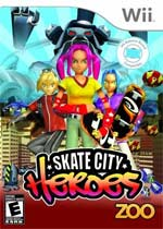 Skate City Heroes box art