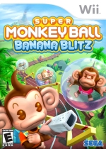 Super Monkey Ball: Banana Blitz box art