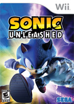 Sonic Unleashed box art