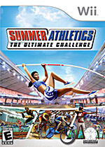 Summer Athletics: The Ultimate Challenge box art