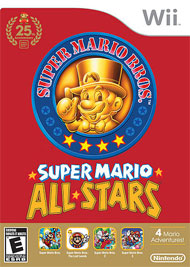 Super Mario All-Stars 25th Anniversary Edition Box Art