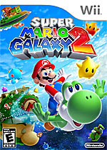 Super Mario Galaxy 2 box art