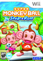 Super Monkey Ball: Step & Roll box art