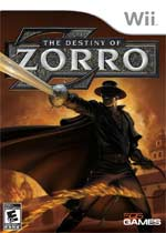The Destiny of Zorro box art