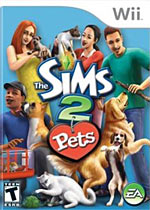 The Sims 2: Pets box art