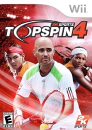 Top Spin 4 Box Art