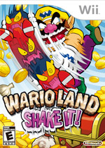 Wario Land: Shake It! box art