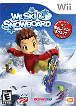We Ski & Snowboard box art