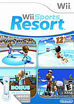 Wii Sports Resort box art