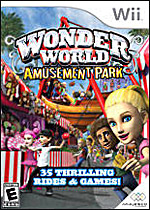 Wonder World Amusement Park box art