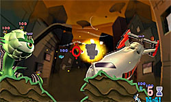 Worms: A Space Oddity screenshot