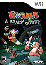 Worms: A Space Oddity box art