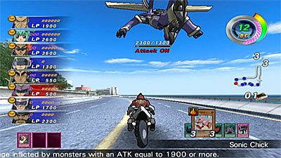Yu-Gi-Oh! 5D's Wheelie Breakers screenshot