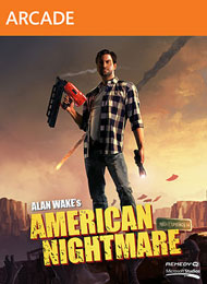 Alan Wake's American Nightmare Box Art