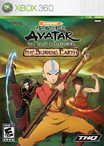 Avatar: The Last Airbender - The Burning Earth box art