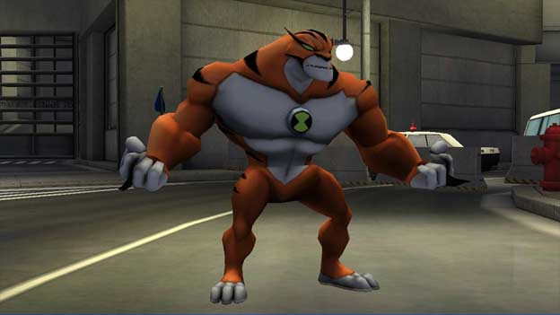 Ben 10 Ultimate Alien: Cosmic Destruction screenshot