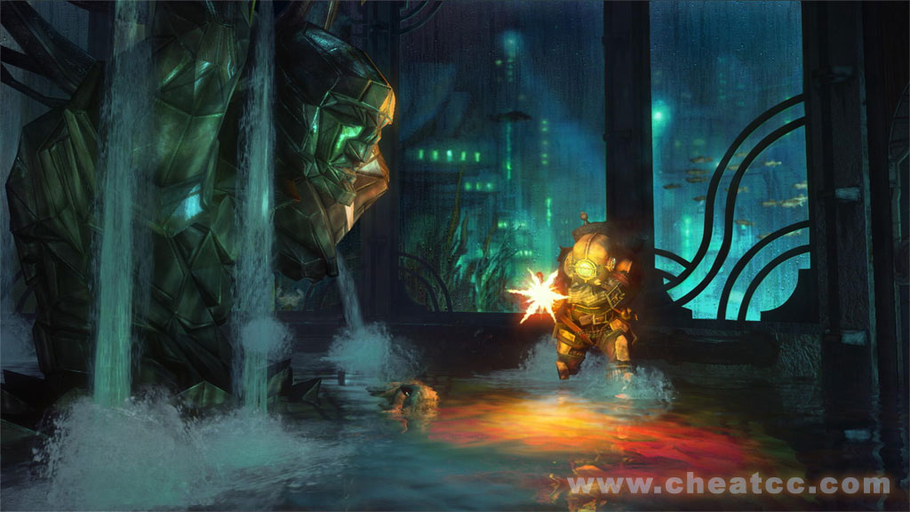 Bioshock Review For Xbox 360 X360