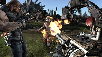 Borderlands screenshot