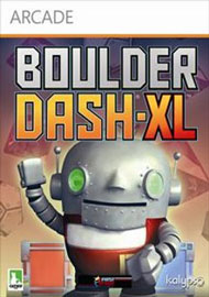 Boulder Dash-XL Box Art