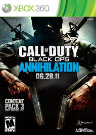 Call of Duty: Black Ops - Annihilation Box Art