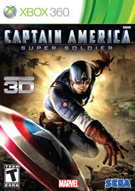 Captain America: Super Soldier Box Art