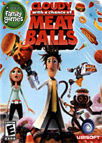 Cloudy with a Chance of Meatballs box art