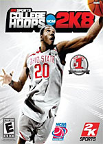 College Hoops 2K8 box art