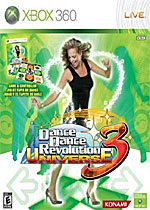Dance Dance Revolution Universe 3 box art