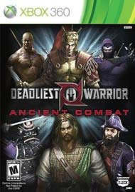 Deadliest Warrior: Ancient Combat Box Art