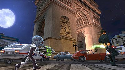 Destroy all Humans! Path of the Furon screenshot