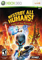 Destroy all Humans! Path of the Furon box art