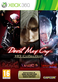 Devil May Cry HD Collection Box Art