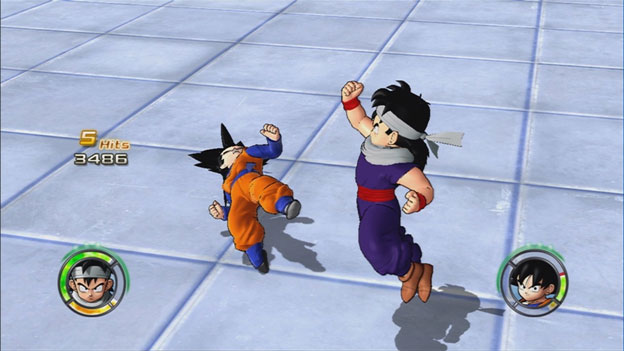 Dragon Ball: Raging Blast 2 screenshot