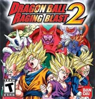 Dragon Ball: Raging Blast 2 box art