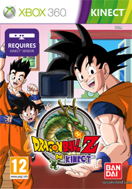Dragon Ball Z for Kinect Box Art