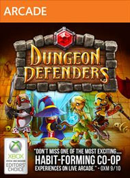 Dungeon Defenders Box Art