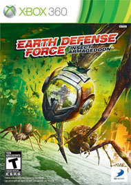 Earth Defense Force Insect Armageddon Box Art
