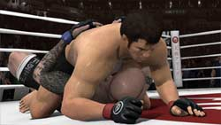 EA Sports MMA screenshot