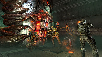 Enemy Territory: QUAKE Wars screenshot