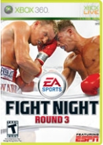 Fight Night Round 3 box art