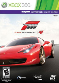 Forza Motorsport 4 Box Art