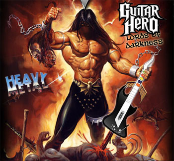Guitar Hero: Lords of Darkness screenshot
