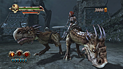 Golden Axe: Beast Rider screenshot