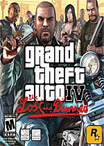 Grand Theft Auto IV: The Lost and Damned box art