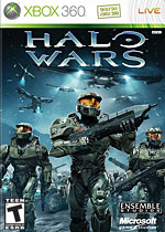 Halo Wars box art