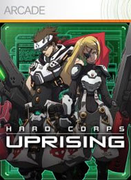 Hard Corps: Uprising Box Art