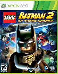 LEGO Batman 2: DC Super Heroes Box Art