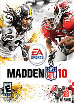 Madden NFL 10 box art