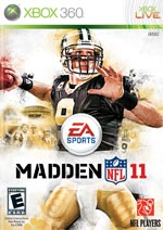 Madden NFL 11 box art