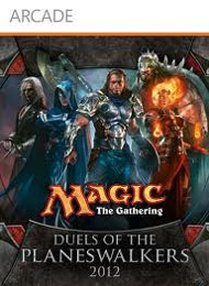 Magic the Gathering: Duels of the Planeswalkers 2012 Box Art